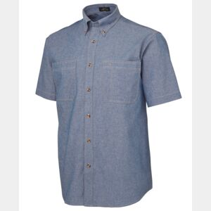 JB's S/S Cotton Chambray Shirt Thumbnail