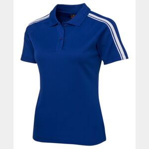 Podium Ladies Dual Stripe Polo Thumbnail