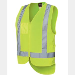 Hi Vis Zip Drop Tail (D+N) Vest Thumbnail