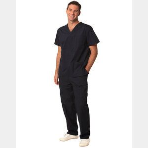 Unisex Scrubs Short Sleeve Tunic Top Thumbnail