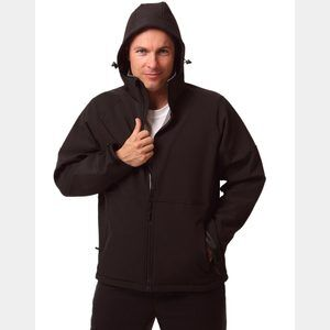 Men's Aspen Softshell Hood Jacket Thumbnail