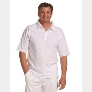 Short Sleeve Cricket Polo Thumbnail