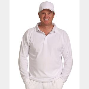 Long Sleeve Cricket Polo Thumbnail